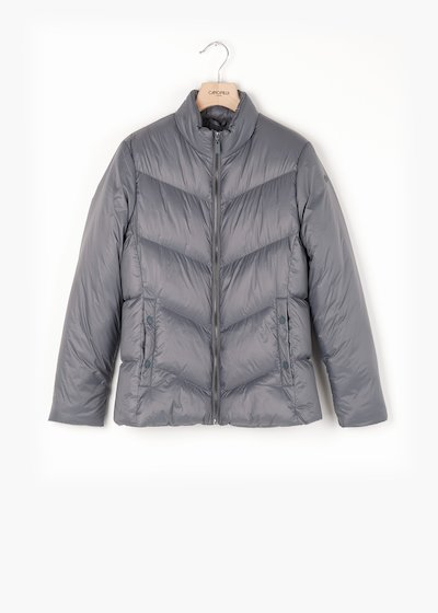 Penny long sleeve down jacket with high collar