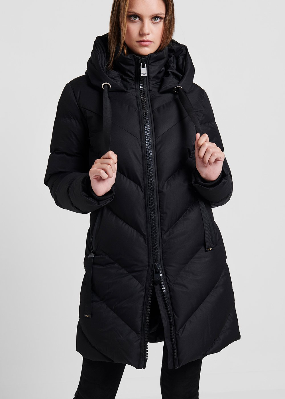 Parker down jacket - Black - Woman