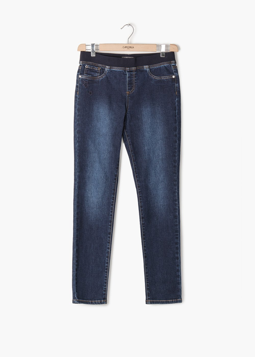 Pantaloni Denver in denim modello Kelly - Denim - Donna