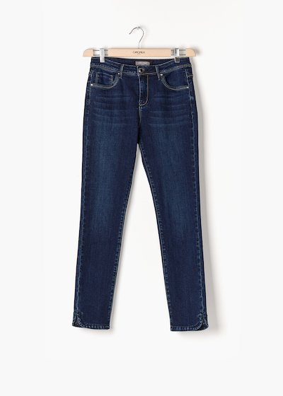 Pantaloni Dider in denim dal fit skinny