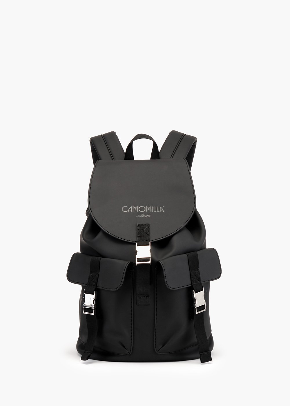 Bess backpack in technical fabric - Black - Woman
