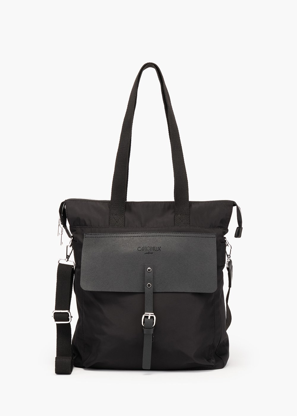 Borsa  Bettie in tessuto tecnico - Black - Donna
