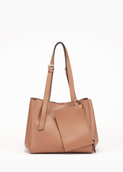 Beren bag in unlined eco leather