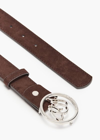 Cinty loop belt in eco suede