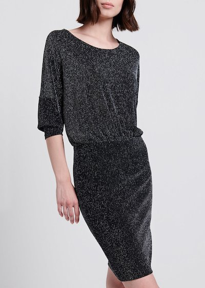 Amor Jersey Lurex Dress