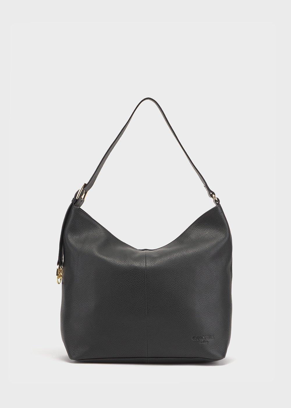 Genuine leather Brigitte bag - Black - Woman