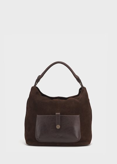Brad brown leather bag