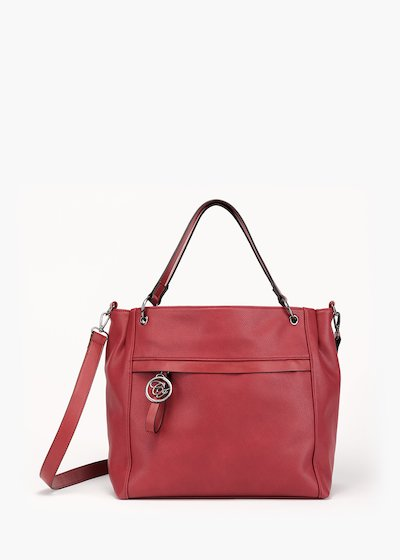 Borsa Beckys in eco pelle stampa cervo