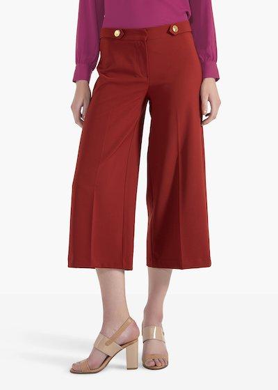 Pantaloni Paride modello Megan in tessuto tecnico