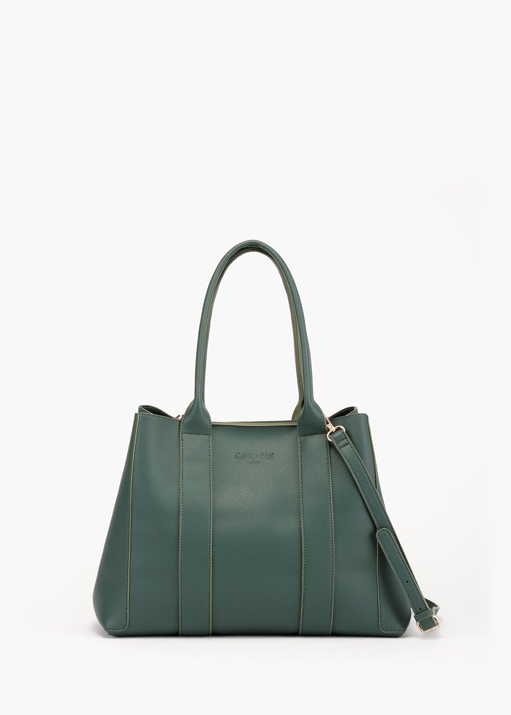 Barly shopping bag in unlined eco leathe - Woman