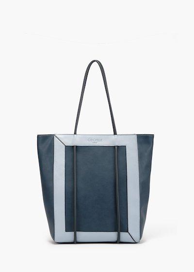 Shopping bag Bedey con manico tubolare