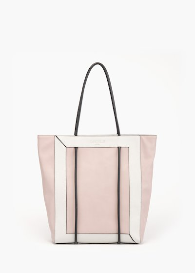 Shopping bag Bedey con manico tubolare
