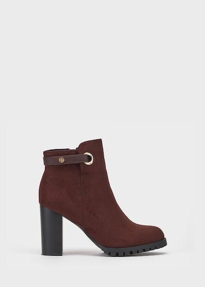 Sissy faux-suede ankle boots