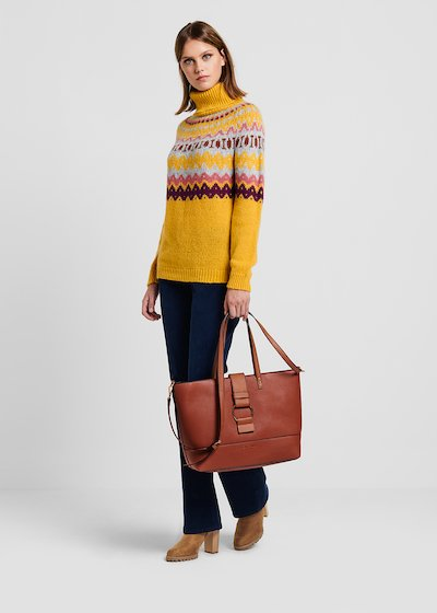 Shopping Bag in eco pelle