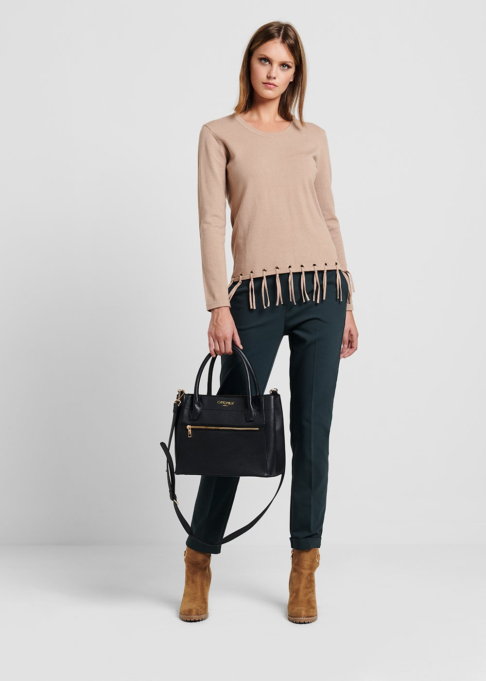 Brainy black bag - Black - Woman