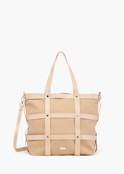 Bjor Shopping bag cage model with micro studs detail