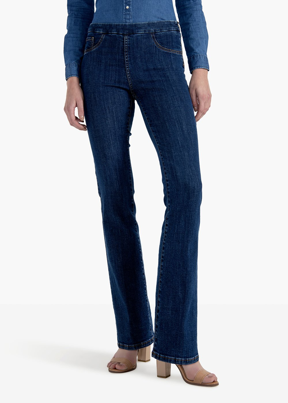 Victoria denim pants - Medium Blue - Woman