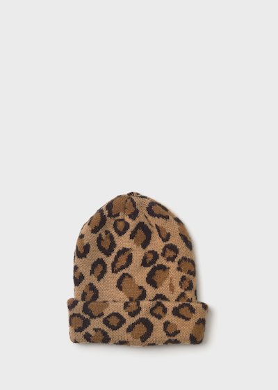 Caddy hat with spotted print