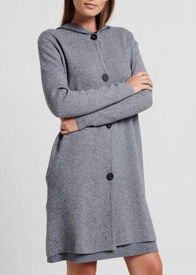 Cappotto modello Cecil con cappuccio