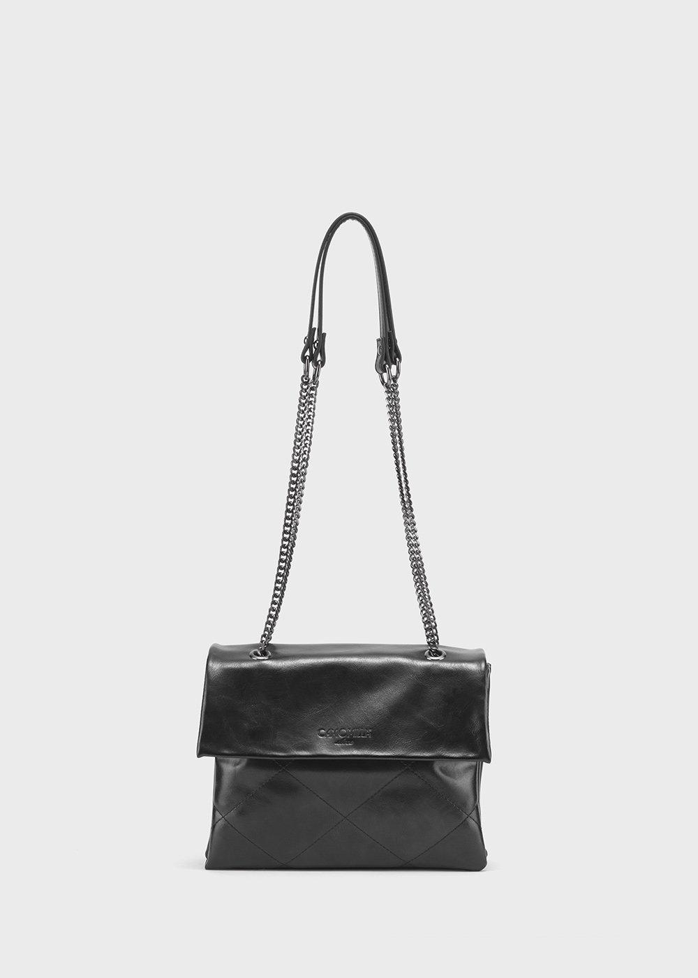 Balou faux-leather bag - Black - Woman