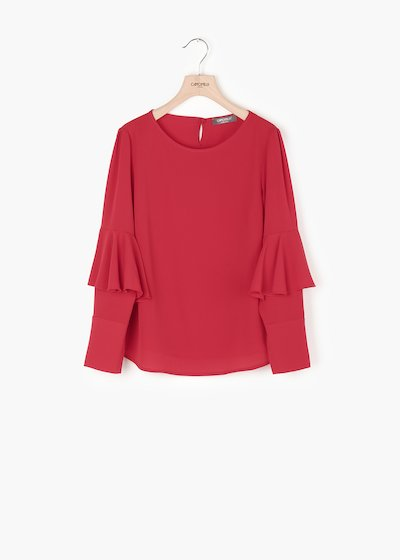 Clara shirt with long sleeves
