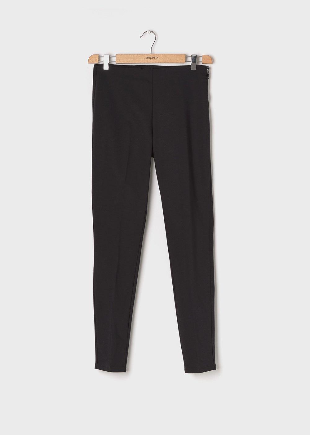 Claudia C model trousers - Black - Woman
