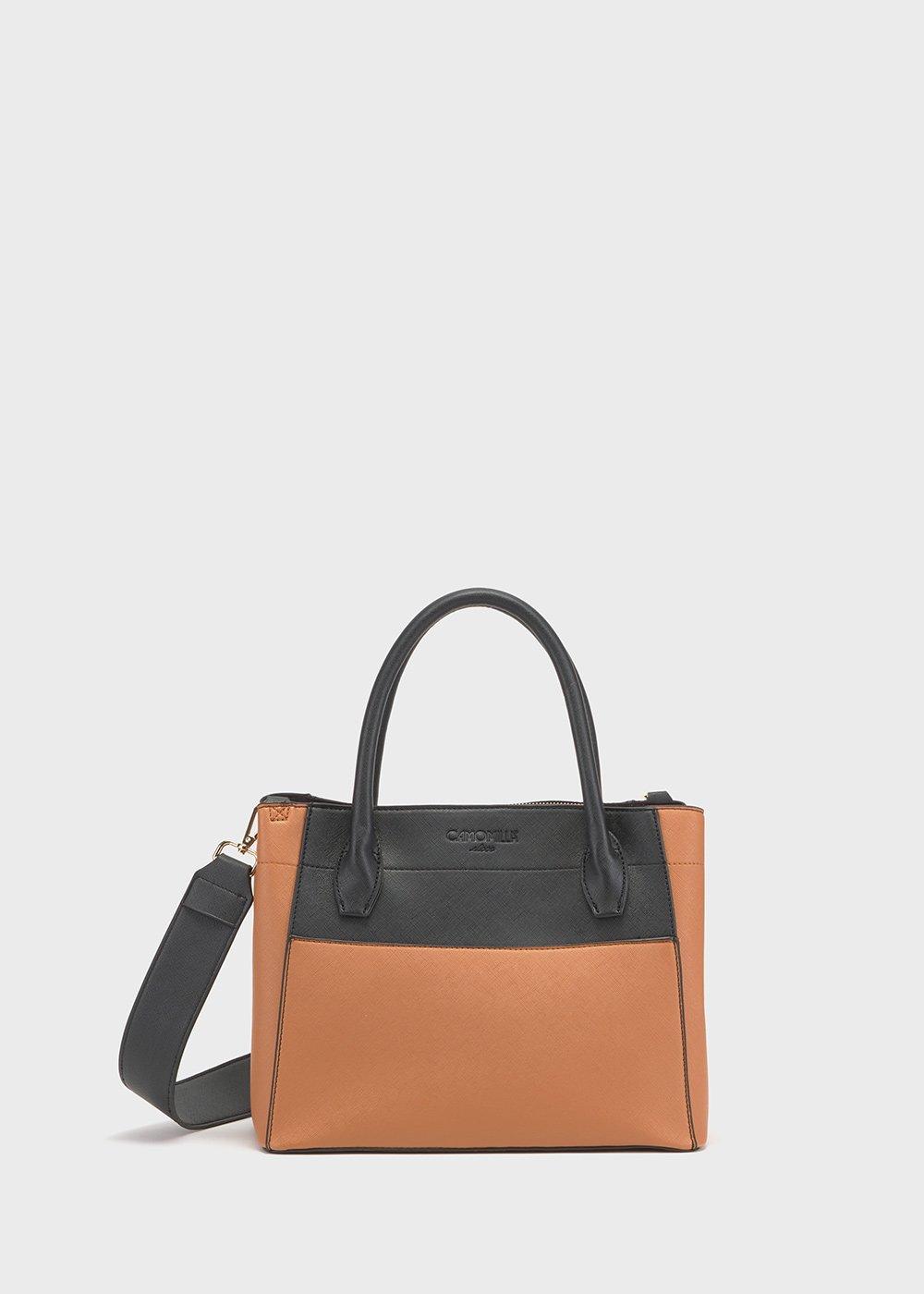 Two-tone Bleed bag - Suolo /   Black - Woman