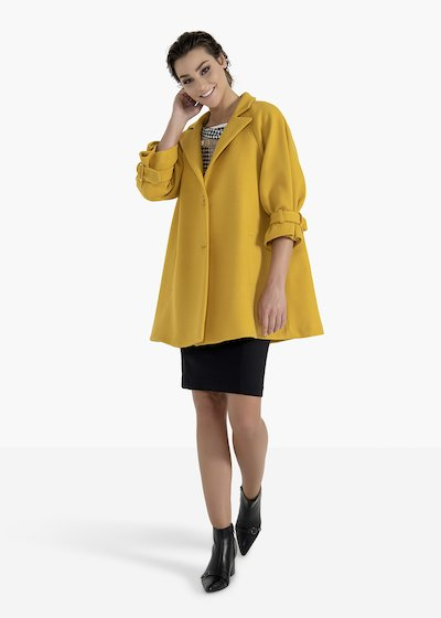 Coat Camilo in lined cloth with double button