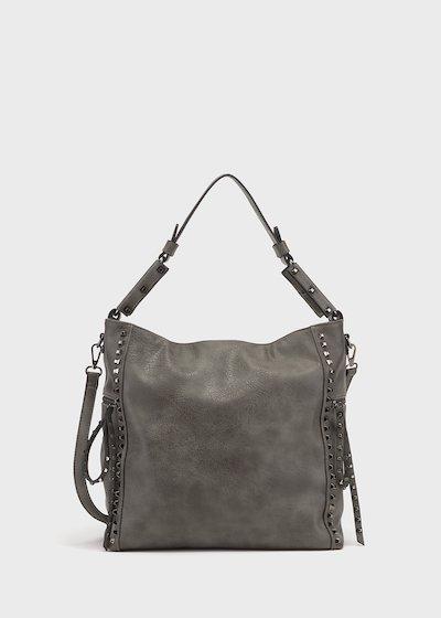 Shopping bag Brean con borchie