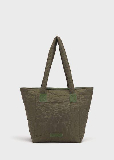 Beggys grape nylon shopping bag