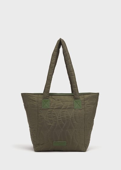 Beggys grape nylon shopping bag