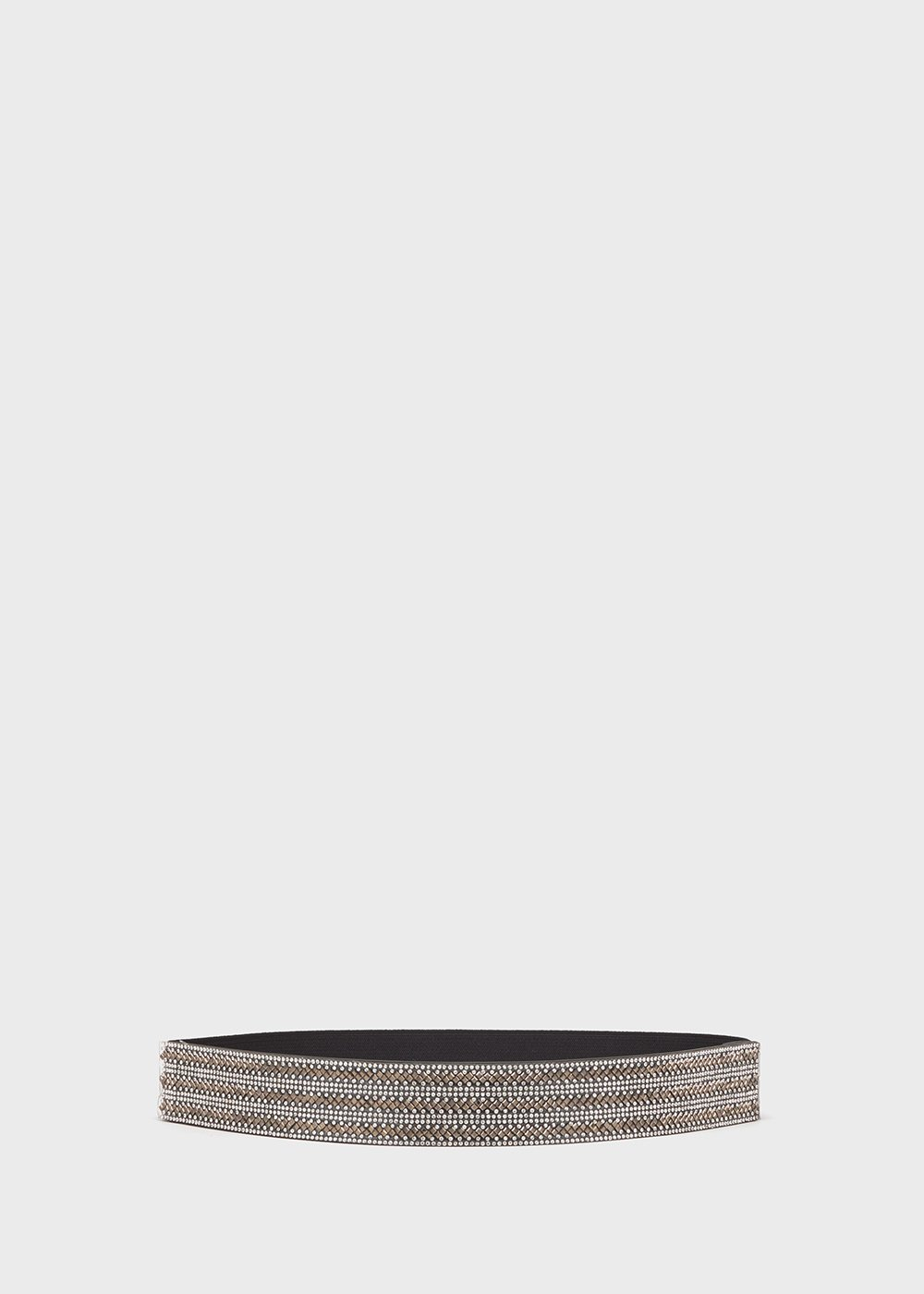 Cruel elastic belt with crystals detail