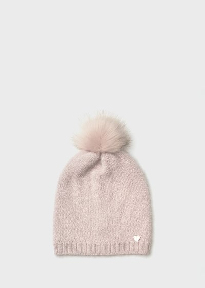 Fur - effect Cam hat