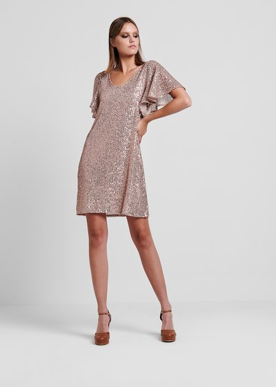 Light gold rose Adriano dress