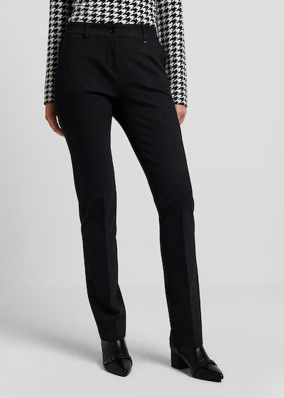 Clair trousers in milano stitch