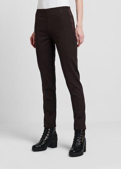 Pantaloni modello Scarlett in punto milano