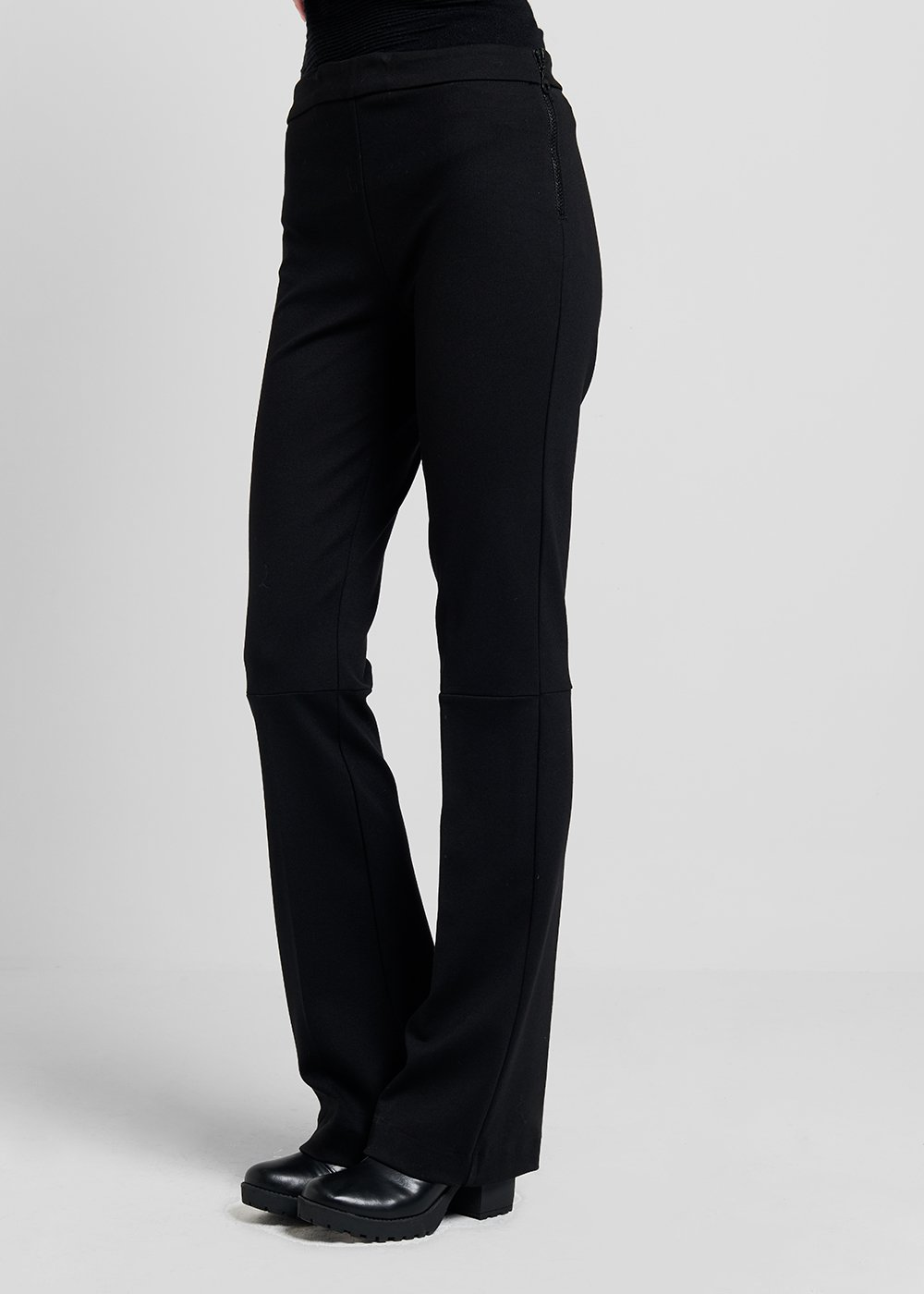 Victoria trousers in technical fabric - Black - Woman
