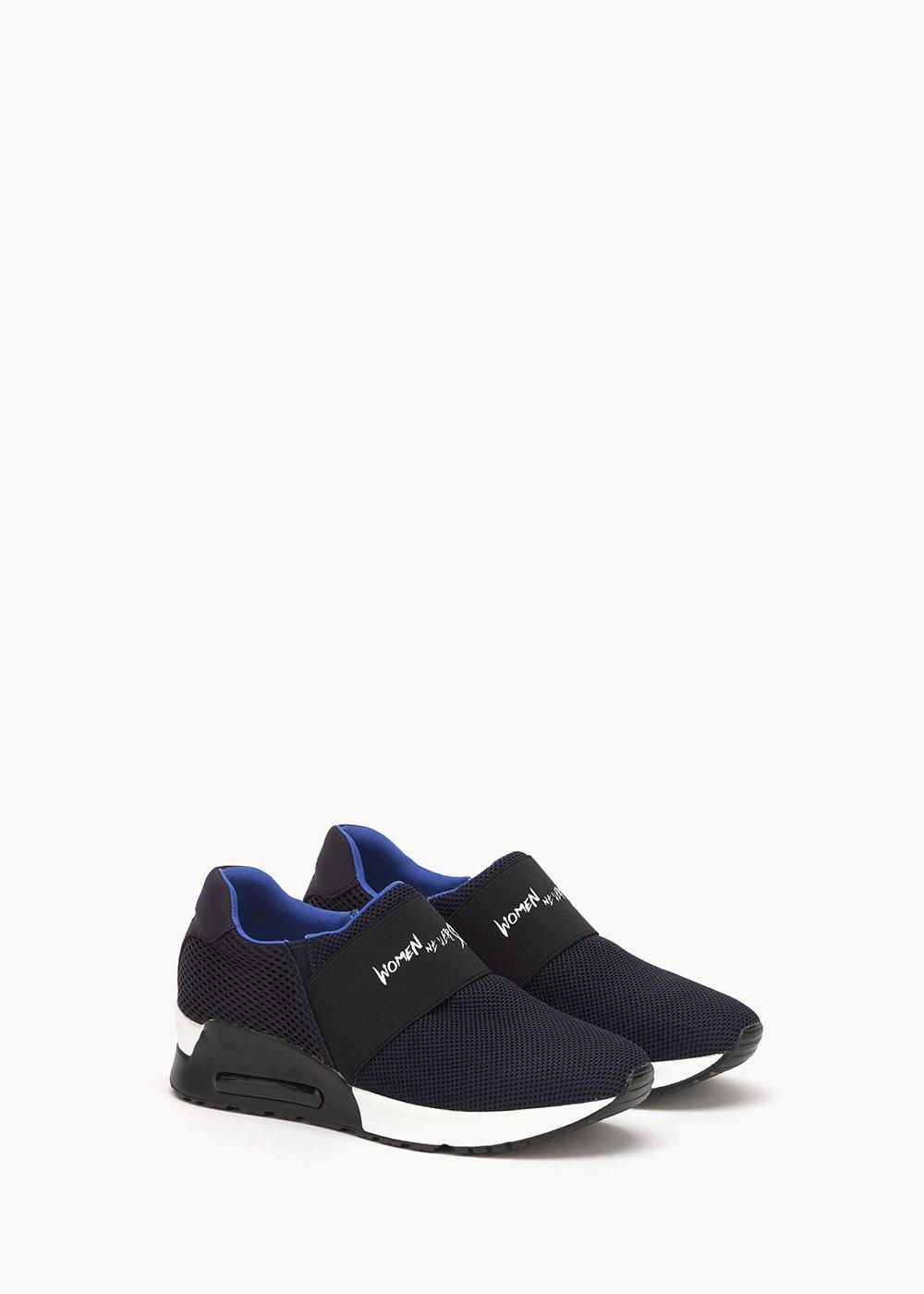 Sakir sneakers with elastic band - Medium Blue / Nettuno - Woman