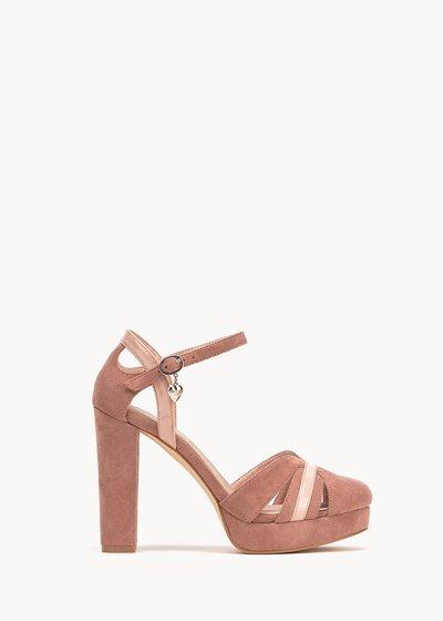 Surly sandal with platform