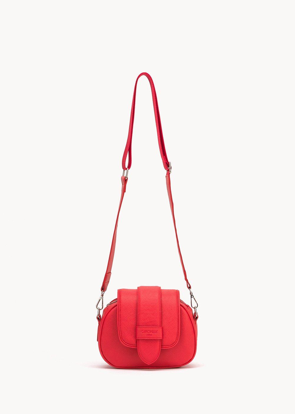 Bailey shoulder bag with shoulder strap - Lobster - Woman