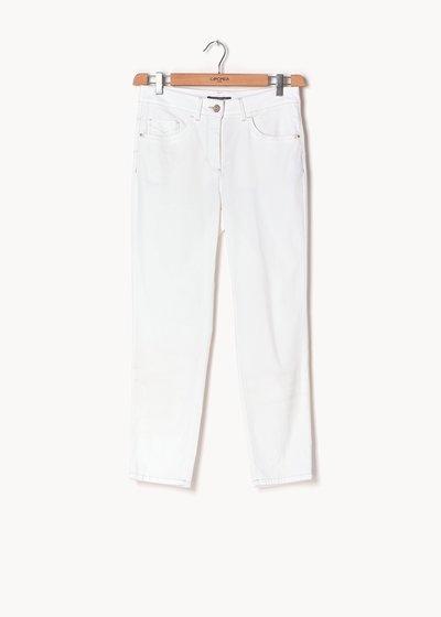Priamo honeycomb cotton trousers