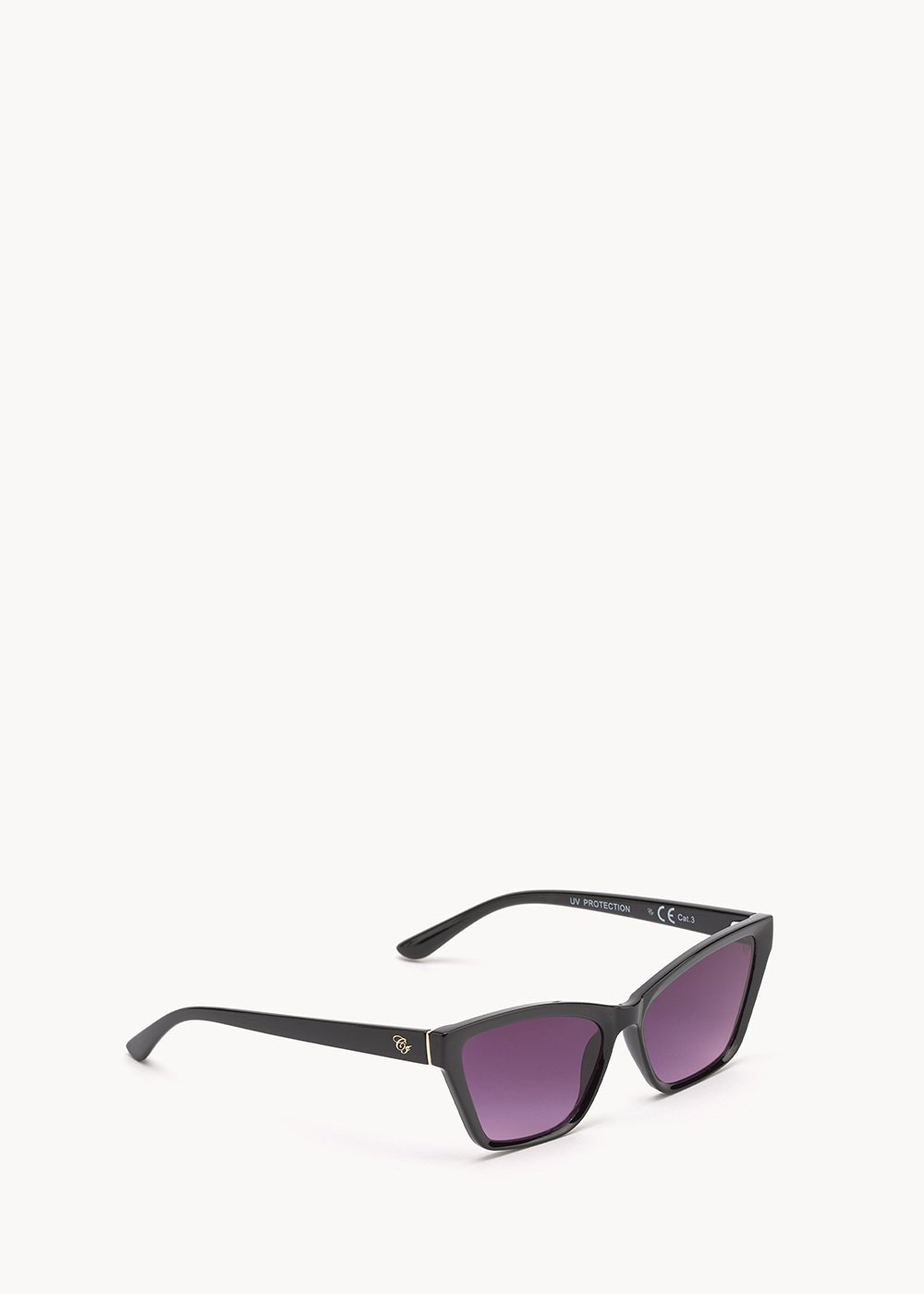 Cat model sunglasses - Black - Woman