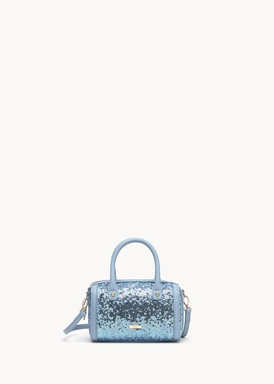 Beryl bowler bag with sequins