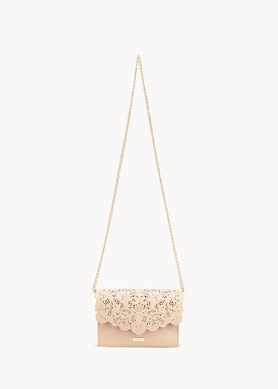 Bonnie shoulder bag with openwork