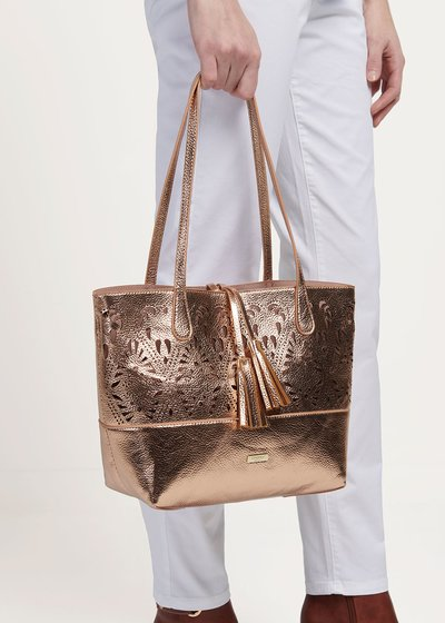 Goro gold rose bag