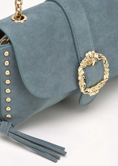 Brigid clutch bag with studs