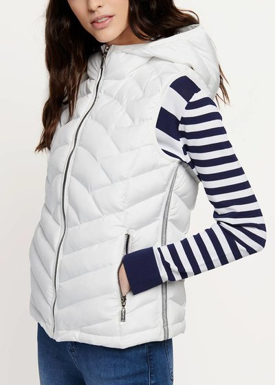 Gavin padded jacket without sleeves