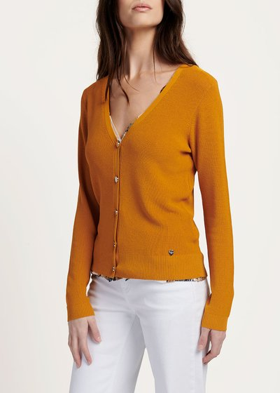 V-neck Can cardigan