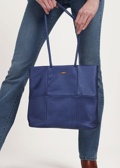 Badel shopping bag with long handle