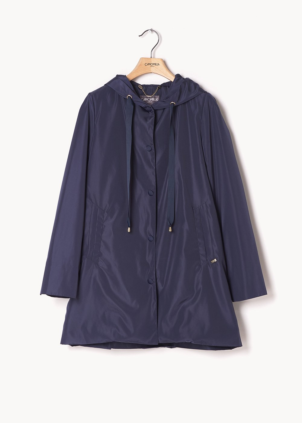 Gahil A-line jacket - Medium Blue - Woman